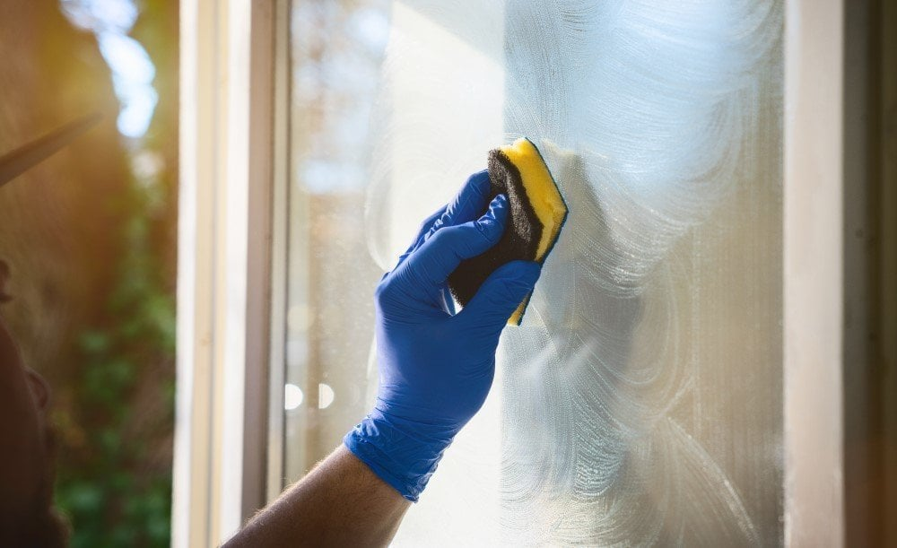 Sørg for, at din far ikke skal pudse vinduer i en lang periode